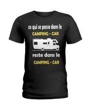 ce qui se passe dans le camping car Ladies T-Shirt thumbnail