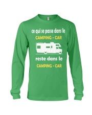 ce qui se passe dans le camping car Long Sleeve Tee thumbnail