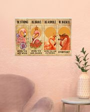 Flamingos Quotes Poster 24x16 Poster poster-landscape-24x16-lifestyle-23