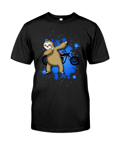 Sloth with Motorcycle