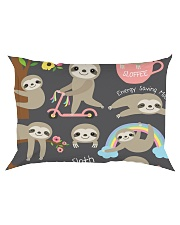 Large Fleece Blanket - Sloth Blanket Rectangular Pillowcase thumbnail
