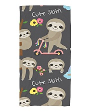 Large Fleece Blanket - Sloth Blanket Beach Towel thumbnail
