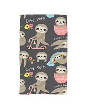 Large Fleece Blanket - Sloth Blanket Hand Towel thumbnail