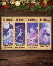 Unicorn Quotes Poster 24x16 Poster aos-poster-landscape-24x16-lifestyle-28