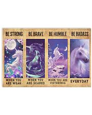 Unicorn Quotes Poster 24x16 Poster front