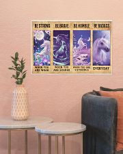 Unicorn Quotes Poster 24x16 Poster poster-landscape-24x16-lifestyle-22