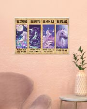 Unicorn Quotes Poster 24x16 Poster poster-landscape-24x16-lifestyle-23