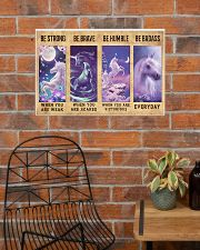 Unicorn Quotes Poster 24x16 Poster poster-landscape-24x16-lifestyle-24