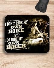 I don't ride my own bike Mousepad aos-mousepad-front-lifestyle-1