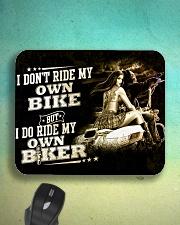 I don't ride my own bike Mousepad aos-mousepad-front-lifestyle-3