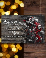 Personalize motorcycling poster 17x11 Poster aos-poster-landscape-17x11-lifestyle-29