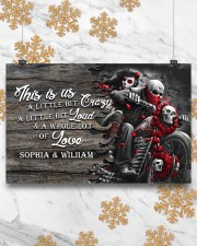 Personalize motorcycling poster 17x11 Poster aos-poster-landscape-17x11-lifestyle-30