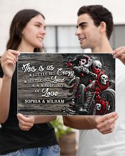 Personalize motorcycling poster 17x11 Poster poster-landscape-17x11-lifestyle-20