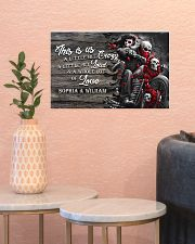 Personalize motorcycling poster 17x11 Poster poster-landscape-17x11-lifestyle-21