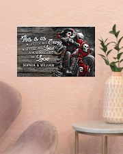 Personalize motorcycling poster 17x11 Poster poster-landscape-17x11-lifestyle-22