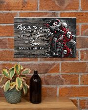 Personalize motorcycling poster 17x11 Poster poster-landscape-17x11-lifestyle-23