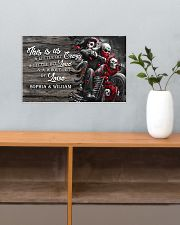 Personalize motorcycling poster 17x11 Poster poster-landscape-17x11-lifestyle-24