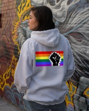 LGBTQ Equality Hoodie Hooded Sweatshirt lifestyle-unisex-hoodie-back-1