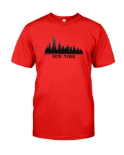 The New York Skyline Classic T-Shirt front