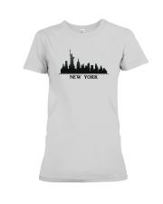 The New York Skyline Premium Fit Ladies Tee thumbnail