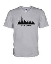 The New York Skyline V-Neck T-Shirt thumbnail