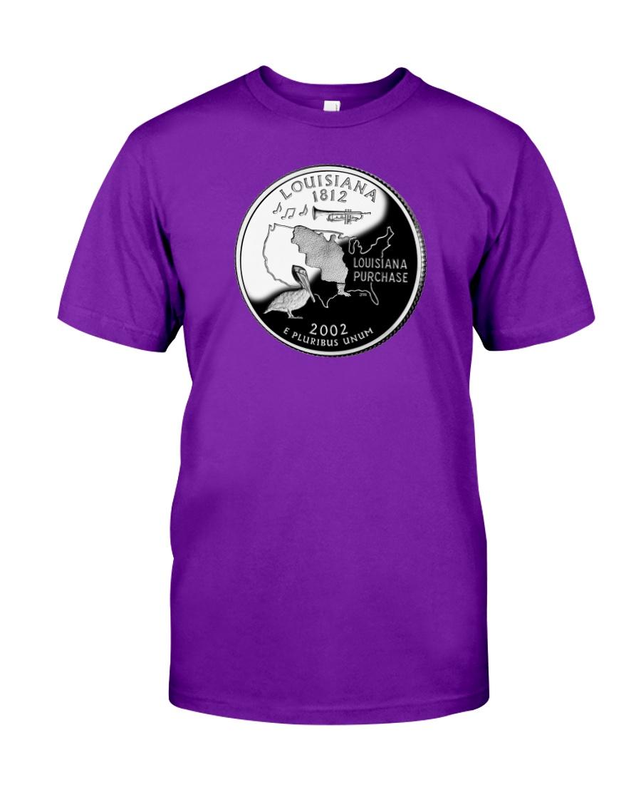 US Quarter - Louisiana 2002 Classic T-Shirt