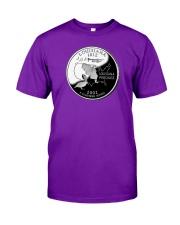 US Quarter - Louisiana 2002 Classic T-Shirt front