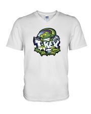Tupelo T-Rex V-Neck T-Shirt thumbnail