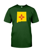 State Flag of New Mexico Classic T-Shirt front