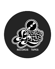 Licorice Pizza Circle Coaster tile