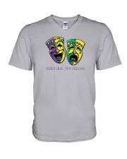 New Orleans - Mardi Gras V-Neck T-Shirt thumbnail