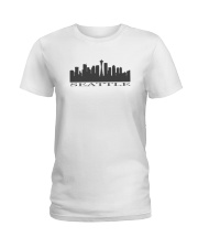 The Seattle Skyline Ladies T-Shirt thumbnail