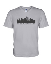 The Seattle Skyline V-Neck T-Shirt thumbnail