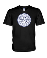 New Orleans Water Meter V-Neck T-Shirt thumbnail