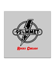 WMET - Chicago Illinois Square Coaster thumbnail