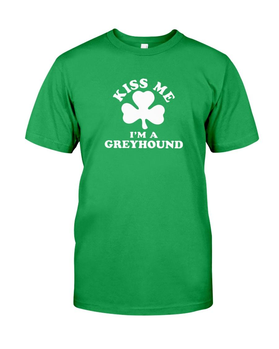 Kiss Me I'm a Greyhound Classic T-Shirt