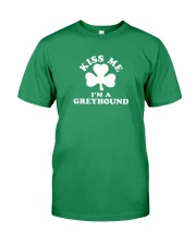 Kiss Me I'm a Greyhound Premium Fit Mens Tee thumbnail