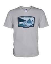 Olympic National Park - Washington V-Neck T-Shirt thumbnail