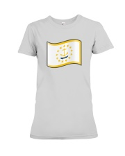State Flag of Rhode Island Premium Fit Ladies Tee thumbnail