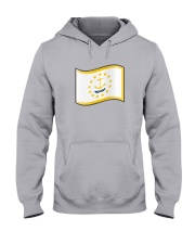 State Flag of Rhode Island Hooded Sweatshirt thumbnail
