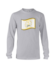 State Flag of Rhode Island Long Sleeve Tee thumbnail