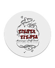 Fiesta at the Fiesta - Biloxi Mississippi Circle Coaster tile