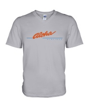Aloha Airlines V-Neck T-Shirt thumbnail