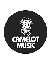Camelot Music Circle Coaster thumbnail
