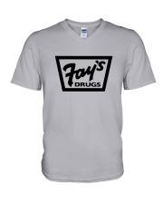 Fay's Drugs V-Neck T-Shirt tile