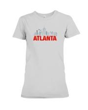 The Atlanta Skyline Premium Fit Ladies Tee thumbnail
