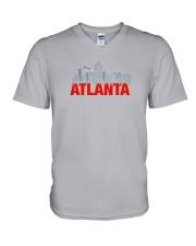 The Atlanta Skyline V-Neck T-Shirt thumbnail