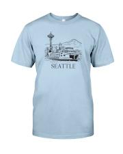 Seattle - Washington Classic T-Shirt front