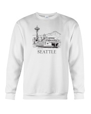 Seattle - Washington Crewneck Sweatshirt thumbnail