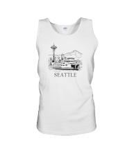 Seattle - Washington Unisex Tank thumbnail